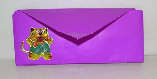 Кошелёк с двумя отделениями.  Оригами.  Объёмные фигуры из...