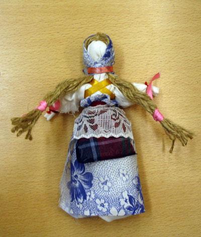 Русские игрушки из ткани